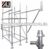 Galvanized Steel Cuplock Scaffold for Building Construction (Guangzhou Manufacturer)