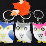 Custom Made Owl Shape Cute Keychain for Promotion