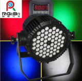 54X3w RGBW Outdoor IP65 Waterproof Stage Wash LED PAR Can Light