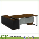 Steel Frame Office Desk with Metal Modesty Panel.