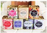 Airtight Square Tea Tin Box