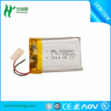 650mAh/3.7V Li-ion Polymer Battery Pack