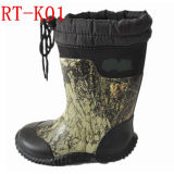 Kids Neoprene and Rubber Rain Boot (RT-K01)