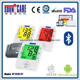 Bluetooth 3-Color Backlit Smart Digital Arm Blood Pressure Monitor (BP 80JH-BT)