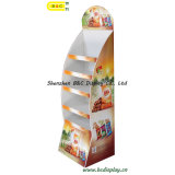 Super Markets Paper Display for Chips, Cardboard Display Stand with SGS (B&C-A003)
