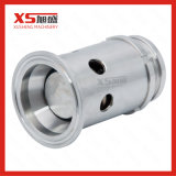Stainless Steel Tri Clamp Adjustable Overpressure Valves