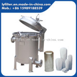 High Press Stainless Steel Single Filter Bag Housing with Sandblast Surface