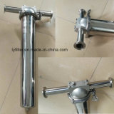 Wall-Mounted Stainless Steel Single Cartridge Filter Housing with Flange/Quick Bolt/Clamp