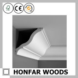 Hotel Ceiling Decor Wooden Cornice Crown Moulding