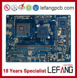 Multilayer Blue Solder Mask Industry Control Circuit Board PCB
