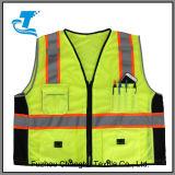 Hot Sale Reflective Safety Vest with Pockets