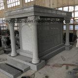 China Grey Granite Mausoleum