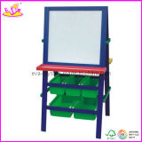 Wooden White Board, with Storage Holder (W12B027)