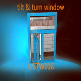 Hot Design Double Insulating Tempered Glass PVC Casement Window