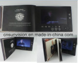"""Multi Pages 7"""" LCD Business Brochure Video Greeting Card"""