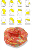 Polyester Microfiber Custom Buff Headwear Scarf Wrap Seamless Multifunctional Tube Neckerchief