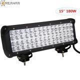 """180W LED 15"""" Four Row Light Car Bar for Jeep SUV 4X4"""
