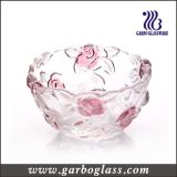 Rose Glass Bowl Decorative Gift (GB1615MG-1/PDS)