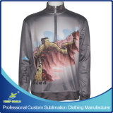 Custom Designed Full Sublimation Premium 1/4 Zipper Sweatshirt