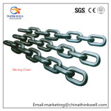 Forged High Alloy Steel Black Painting Mining Chain