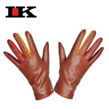 Ladies Fashion Leather Dress Gloves (LKD-9292)