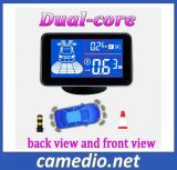 Waterproof Car Front and Rear Parking Sensor System with 4/6/8 Sensors&LCD Display Monitor