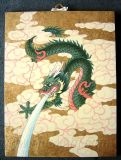Chinese Dragon Lacquer Art Painting