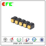 Female Spring Loaded Connectors Surface Mount 2.54mm Pitch