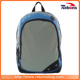 Custom Label Provided Young Teenager School Backpack with Metal Zippers