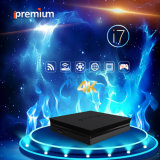 Ipremium I7 IPTV Ott TV Online Stalker Severs DVB Set Top Box Quad Core 64-Bit 4k Mickyhop WiFi Receiver for Worldwide Used
