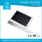 2016 High Capacity Dual USB 10000mAh Universal Solar Power Bank for Mobile Phone