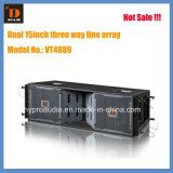 Double 15inch PRO Audio Big Line Array Vt4889 Neo. Indoor and Outdoor of Line Array