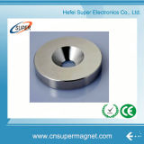 High Quality Customized Round Neodymium Magnet Ring with Holes