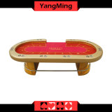 96 Inch Deluxe Casino Grade Heavy Duty Professional Texas Holdem Poker Table with Gold LED Night Ym-Tb015