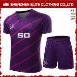 Top Quality Hot Selling Custom Fancy Football Jersey Purple (ELTSJI-7)
