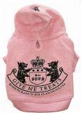 Discount Brand Juicy Coral Velvet Winter Pet Hoodie Coat