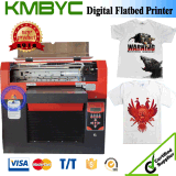 Byc Flatbed Printer for T-Shirts Printing