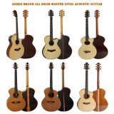 Aiersi Wholesale Electrical Talent Custom All Solid Acoustic Guitars