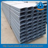 Galvanized C Gutter Steel Roof/Shed Purlins for Building Material