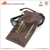 Hot Sale Bronzing Print Microfiber Glasses Pouch