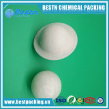 with Edge Floating Plastic Liquid-Surface Covering Ball