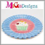 Hot Sale Custom Ceramic Cake Design Plate and Dish