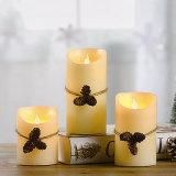 Ivory Flameless LED Electronic Candle for Party or Decoration