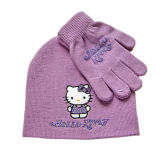 Girl′s Cartoon Animal Knitted Hat (JRK093)