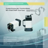 Portable Stroboscope for Machinery Inspection and Vitration Monitoring Dt-316