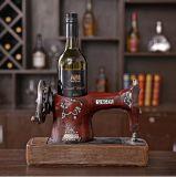Wholesale Creative Sewing Machine Shape Wine Bottle Holder