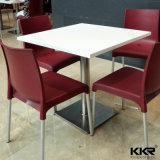 Artificial Stone Small Fast Food Modern Dining Table
