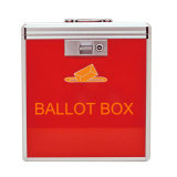 Desktop Aluminum Light Weight Vote Box for Multi Functional Use