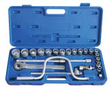 "24PCS 1/2"" 12.5mm Series Hand Tool Socket Wrench Set"