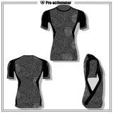 Custom Sports Wear OEM Factory Wholesale Men′s Compression T Shirt